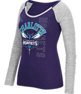 Women's adidas Charlotte Hornets NBA Team Liquid Long Sleeve Shirt