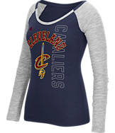 Women's adidas Cleveland Cavaliers NBA Team Liquid Long Sleeve Shirt