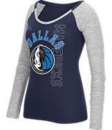 Women's adidas Dallas Mavericks NBA Team Liquid Long Sleeve Shirt