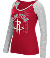 Women's adidas Houston Rockets NBA Team Liquid Long Sleeve Shirt