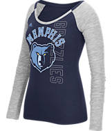 Women's adidas Memphis Grizzlies NBA Team Liquid Long Sleeve Shirt
