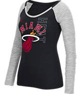 Women's adidas Miami Heat NBA Team Liquid Long Sleeve Shirt