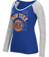 Women's adidas New York Knicks NBA Team Liquid Long Sleeve Shirt