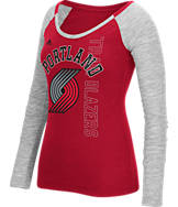 Women's adidas Portland Trail Blazers NBA Team Liquid Long Sleeve Shirt