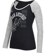 Women's adidas San Antonio Spurs NBA Team Liquid Long Sleeve Shirt