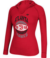 Women's adidas Atlanta Hawks NBA Retro Baller Hooded Shirt