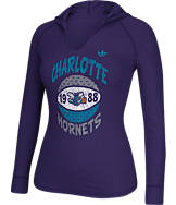 Women's adidas Charlotte Hornets NBA Retro Baller Hooded Shirt