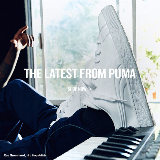 The Latest From Puma. Shop Now.