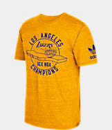 Men's adidas Los Angeles Lakers NBA Champ City T-Shirt