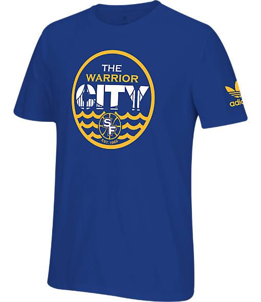 Men's adidas Golden State Warriors NBA Warrior City T-Shirt