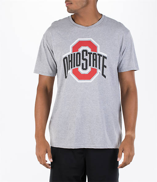 Men's J. America Ohio State Buckeyes College Arch O T-Shirt