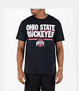 Men's J. America Ohio State Buckeyes College Block Wordmark T-Shirt
