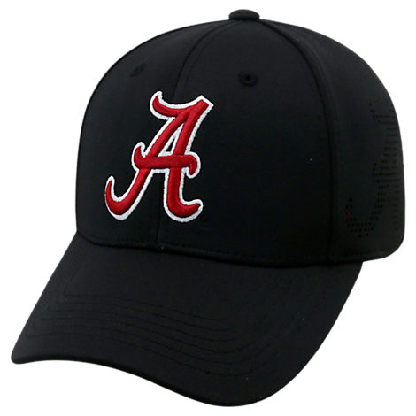 Top Of The World Alabama Crimson Tide College Rails Performance Flex Fit Hat