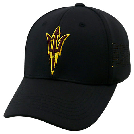Top Of The World Arizona State Sun Devils College Rails Performance Flex Fit Hat