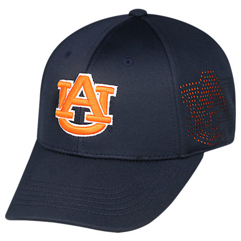 Top Of The World Auburn Tigers College Rails Performance Flex Fit Hat