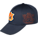 Alternate view of Top Of The World Auburn Tigers College Rails Performance Flex Fit Hat in Navy