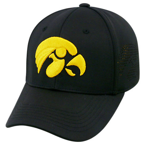 Top Of The World Iowa Hawkeyes College Rails Performance Flex Fit Hat