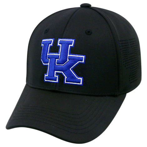 Top Of The World Kentucky Wildcats College Rails Performance Flex Fit Hat