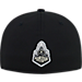 Back view of Top Of The World Purdue Boilermakers College Rails Performance Flex Fit Hat in Black