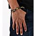 Back view of Rastaclat Classic Bracelet in Woodland