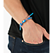 Alternate view of Rastaclat Knotaclat Bracelet - Nexus in Red/Blue