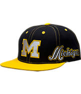 Top Of The World Michigan Wolverines College Reflector Snapback Hat