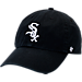 Front view of '47 Chicago White Sox MLB Clean-Up Adjustable Hat in Team Colors