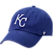 Front view of '47 Kansas City Royals MLB Clean-Up Adjustable Hat in Team Colors