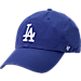 Front view of '47 Los Angeles Dodgers MLB Clean-Up Adjustable Hat in Team Colors