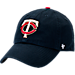Front view of '47 Minnesota Twins MLB Clean-Up Adjustable Hat in Team Colors