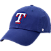 Front view of '47 Texas Rangers MLB Clean-Up Adjustable Hat in Team Colors