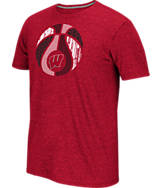 Men's adidas Wisconsin Badgers College Hardwood T-Shirt