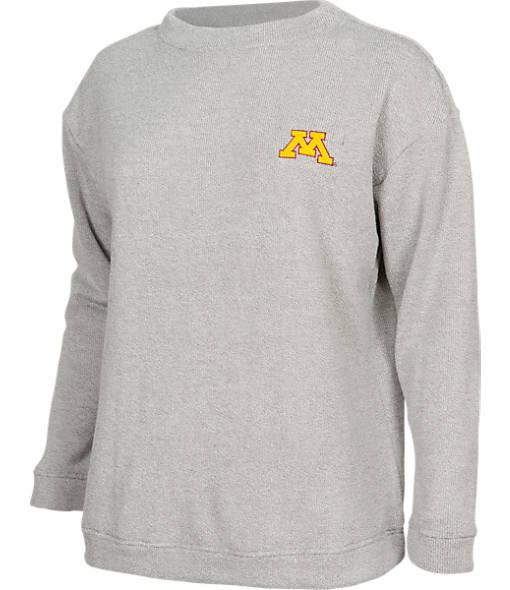 Women's College Concepts Minnesota Golden Gophers College Crewneck Terry Shirt