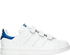 Boys' Preschool adidas Originals Stan Smith Stay-Put Closure Casual Shoes