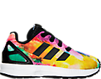 Girls' Toddler adidas ZX Flux Print Casual Shoes