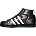 Left view of Men's adidas Pro Model Casual Shoes in BLK
