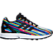 Right view of Girls' Preschool adidas ZX Flux Casual Shoes in Core Black/Multi Digi Print