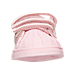 Front view of Girls' Toddler adidas Superstar Casual Shoes in Pink