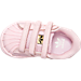 Top view of Girls' Toddler adidas Superstar Casual Shoes in PNK