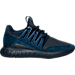 Right view of Men's adidas Tubular Radial Casual Shoes in Navy