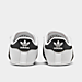 Left view of Infant adidas Superstar Crib Shoes in White/Black