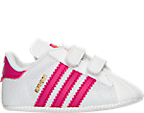 Girls' Infant adidas Superstar Crib Shoes