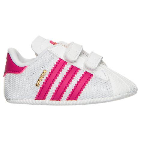 Girls' Infant adidas Superstar Crib Shoes