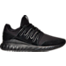 Right view of Men's adidas Tubular Radial Mono Casual Shoes in Black/Black