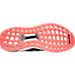 Bottom view of Boys' Grade School adidas Ultra Boost Running Shoes in Black/Solar Red