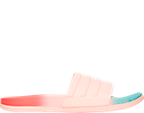 Women's adidas adilette Cloudfoam Fade Slide Sandals