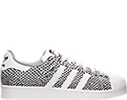 Men's adidas Superstar Snake Print Casual Shoes