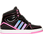 Girls' Grade School adidas Originals Court Attitude Casual Shoes