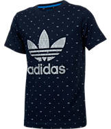 Boys' adidas Originals Trefoil Tech T-Shirt