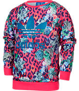 Girls' adidas Originals SRose Farm Crew Sweatshirt
